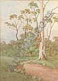 CAYLEY, Neville William (1886-1950) Bush Path with, Neville (1886) Cayley, Click for value