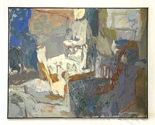 CUMMINGS, Elisabeth (b.1934) Evening Verandah,