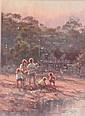 WARD-THOMPSON, Ramon (b.1941) Terrigal Lagoon Oil, Ramon Ward Thompson, Click for value