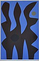 COBURN, John (1925-2006), 'Sentinel', Acrylic on