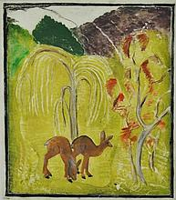 KOHLHAGEN, Lisette (1890-1969) 'Young Deer, '