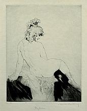 LINDSAY, Norman (1879-1969) 'Phyllida,' 1927.