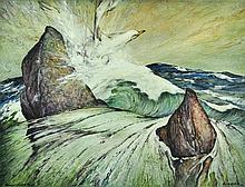 ROBERTS, Ainslie (1911-1993) 'Nyungu's Flight to