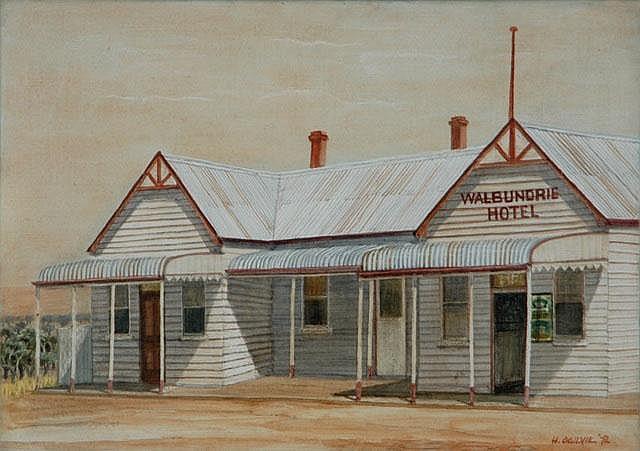 OGILVIE, Helen (19021993) 'Walbundrie Hotel,'