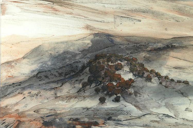 CALDWELL, John (b.1942) 'High Country Evening'
