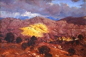 FULLER, Warwick (b 1948) High Country, 1981 Oil on