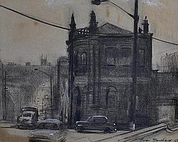 BLANCHARD, Brian (b.1934). Old Building, Cleveland