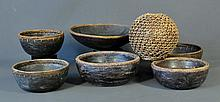 6 Various Western Pacific Bowls etc. Various sizes