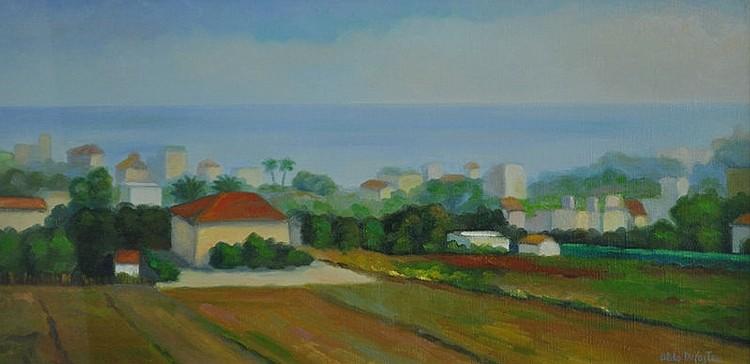 DI CASTRO, Aldo (Italian b.1932) 'Paesaggio di