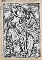 CASSAB, Judy (b.1920) Mother Embracing Child
