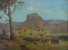 LANGKER, Erik (1898-1982) - 'Pastoral, North Coast.'
