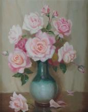 LANGKER, Erik (1898-1982) - 'Roses'