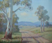 LANGKER, Erik (1898-1982) - 'A Country Road'