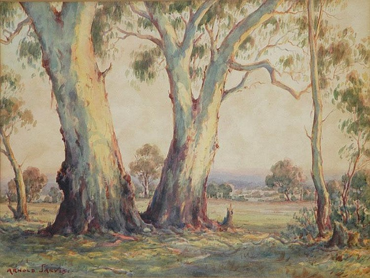 JARVIS, Arnold (1881-1959) Twin Gums W/Clr
