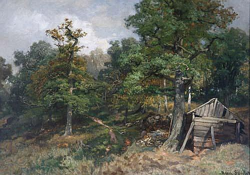 August Specht (Leuffen 1849-1923 Stuttgart) Blick