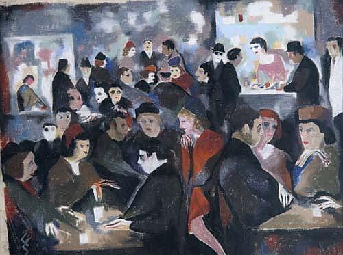 Curt Echtermeyer (1896-1971) Café Boheme Berlin