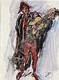 Leo Welden (* Paris 1899) Straßenmusikant mit, Leo