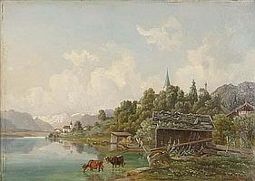 Michael Lueger (München 1804-1883) Blick auf einen