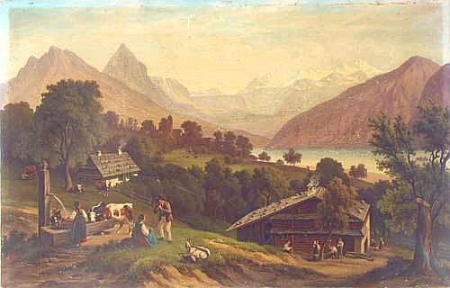 Johann Anton Castell (Dresden 1810-1867 Dresden)