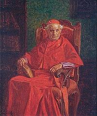 Wilhelm Löwith (* Drosau 1861) In einem Intérieur