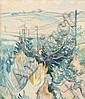 Igor von Jakimov (1885-1962) Landschaft mit, Igor