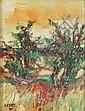 Georges Hosotte (* Paris 1936) L´été, sommerliche, Georges Hosotte, Click for value