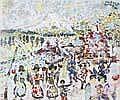 John Paddy, Maler 2. Hälfte 20. Jh. Karnevalszug