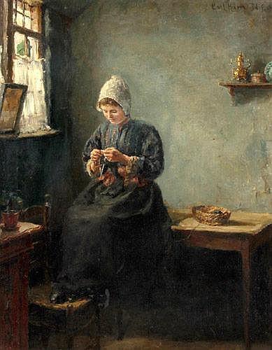 Carl Haver, Maler in Düsseldorf E.19./A.20. Jh.