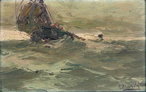 Albert Isidore Devos, attr. (1868-1950)