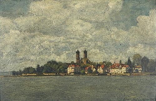 Friedrich Schüz (* Düsseldorf 1874) blick über ein