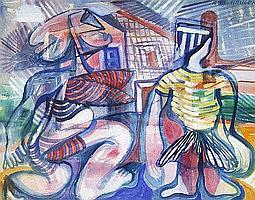 Jean Schuler (St. Ingbert 1912-1984 Paris) Zwei