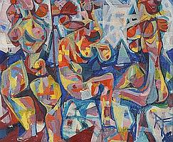 Jean Schuler (St. Ingbert 1912-1984 Paris) Drei
