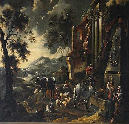 Adam Colonia (1634 Südliche Landschaft mit