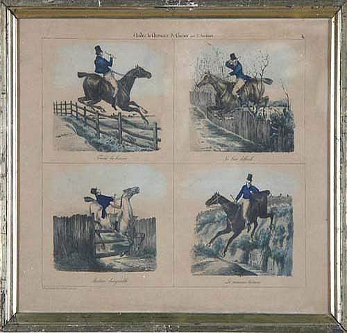 Edouard Bernard Swebach (Paris 1800 Etudes de