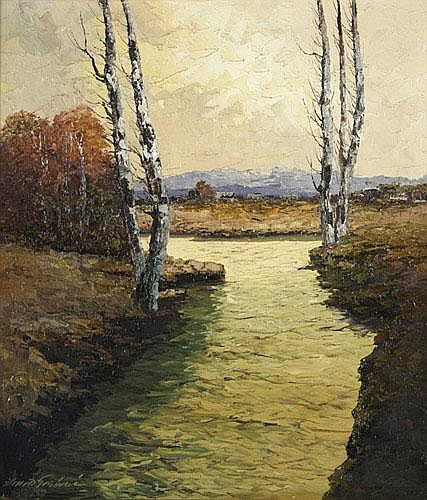 Georg Arnold Graboné (München 1896-1981 Buchhof b. Starnberg)
