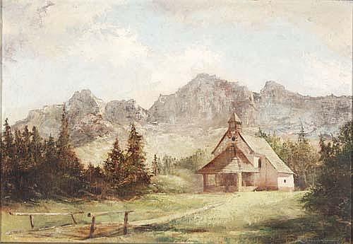Rudolf Werner Ackermann (* 1908) Kapelle im