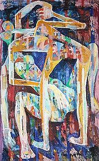 Jean Schuler (St. Ingbert 1912-1984 Paris) Paar,