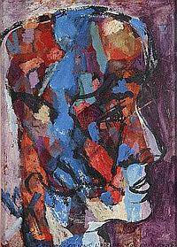 Jean Schuler (St. Ingbert 1912-1984 Paris) Porträt