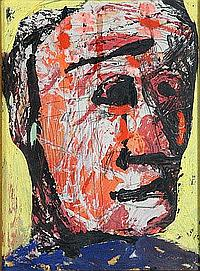Jean Schuler (St. Ingbert 1912-1984 Paris) Öl und