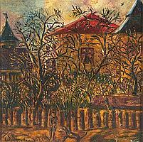 Jean Schuler (St. Ingbert 1912-1984 Paris) Garten