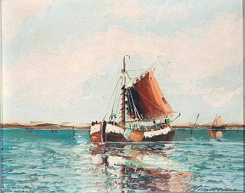 Heinz Mindermann (Bremen 1872-1959 Norderney)