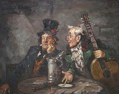 Rudolf Wolf (Leipzig 1877-1940 München) Zwei