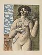 Gyorgy Stefula (* Hamburg 1913) Weiblicher Akt mit, Gyorgy Stefula, Click for value