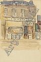 Michael Healy (1873-1941) Shop Front - Dublin