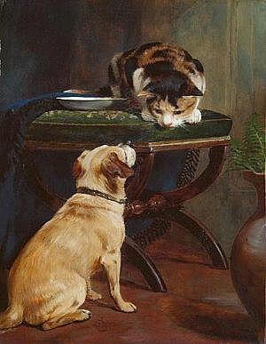 William Osborne RHA (1823-1901) The Best of