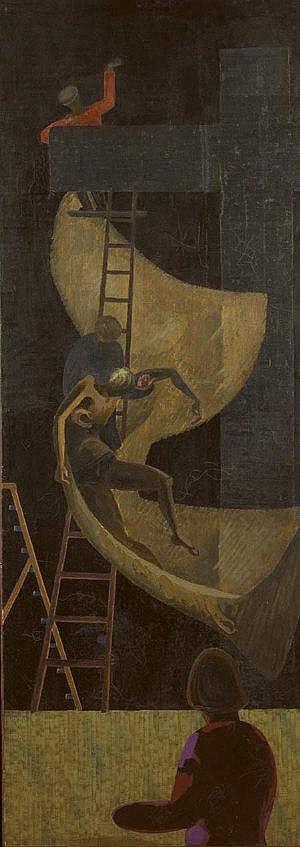 Patrick Pye RHA (b.1929) Deposition & Stranger