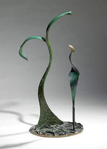 Sandra Bell RHA b.1954 CITRIDORA Bronze, 26