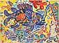 Michael Cullen (b.1946) Fish details Watercolour,, Michael Cullen, Click for value