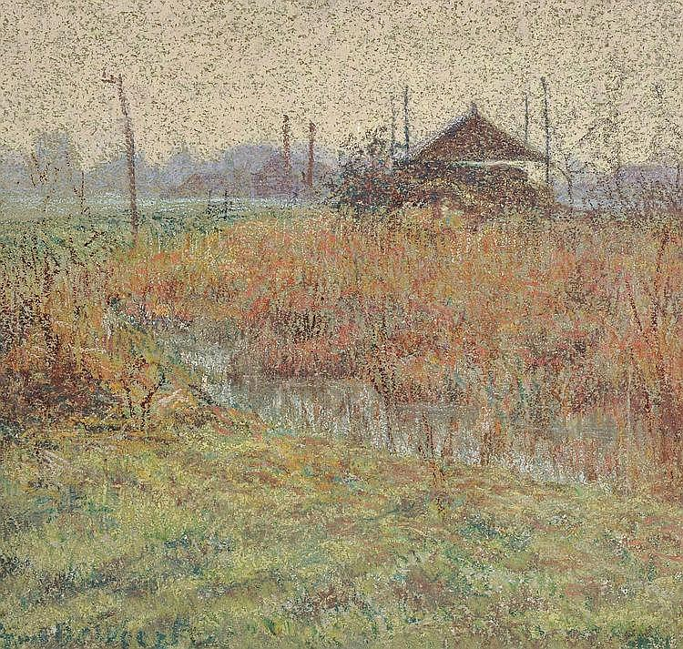 De Weert  Anna (1867-1950) The marsh