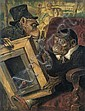 Verlat  Charles (1824-1890) The collector (1880), Charles Verlat, Click for value